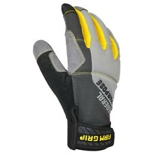 3-Pack or 4-Pack Utility Large Multi Color Synthetic Leather Glove Firm Grip