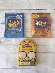 SIMPSONS DVD Box Sets - Seasons 4, 5 & 6