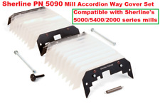 Sherline PN 5090 Mill Accordion Way Cover Set