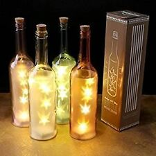 New Vintage LED Glass Bottle Fairy Light Bedroom Lounge Home Accessories Decor