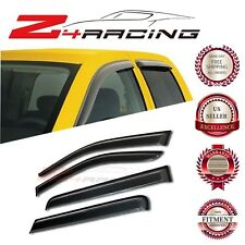 For 05-17 Nissan Frontier Crew Cab Vent Shade Guard Window Visors Deflector 4PC