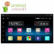"7"" Android 5.1 In-Dash Double Din Car Sat Nav DVD Player Radio GPS Navigation~"