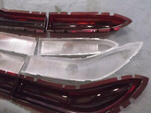 1958 Edsel reproduction senior tail lights with inserts - for Corsair/Citation