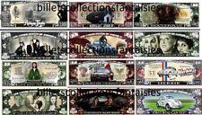 LOT de 6 Billets différents. FILMS - SERIES TV  # 4 . Commémoration / Collection