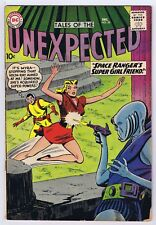 Tales of the Unexpected #56 Good Complete Dc Comics 1960 Pwc