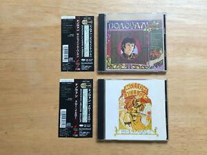 Donovan-Sunshine Superman/Mellow Yellow Japan CD Epic OOP Lot of 2