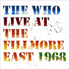 THE WHO 'LIVE AT THE FILLMORE EAST 1968' 2 CD Deluxe Edition (2018)