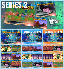 WIDEVISION SERIES 2-MAGICAL MOTION/BLUE/ORANGE SET-21 CARDS-TOPPS DISNEY COLLECT