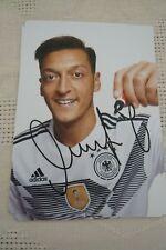 original DFB Autogrammkarte WM 2018 Mesut Özil