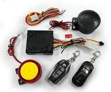 Talking Anti-theft Security Alarm System With 2 Remote for Bikes (Model E)