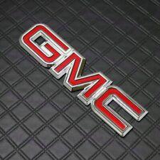 X1 Rear Liftgate Red Emblem Badge For GMC Sierra Yukon Canyon C1500 C2500 C3500