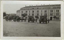 PHOTO ANCIENNE - VINTAGE SNAPSHOT - MILITAIRE CANON ARME CASERNE - MILITARY