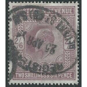 Great Britain - Edward VII - SG260 - 2s6d Shillings - 1902 - VFU