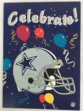 26 Vintage Dallas Cowboys Birthday Party Cards Bernie Kosar Greeting Card Co NFL