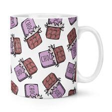 Barre de chocolat motif 284ml Tasse - Nourriture amusant Violet
