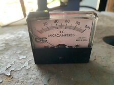 Ammeter 0-100 Microamperes Dc (#207)