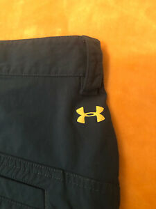 Under armour Golf Shorts Casual Size 40 Electric Blue Color Men's