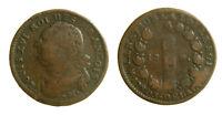 s55_26) France Louis XVI - 12 Deniers 1791 MA