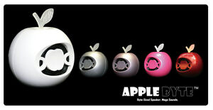 Musibytes Apple Byte pink Mini MP3 iPod iPhone 4 5 6 plus Speaker