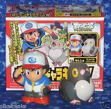 Pokemon Ash Ketchum with Pidove Poke Kids Character Series Mini Figures New USA