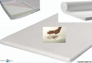 Viskoelastische Matratzenauflage Höhe 5 cm Visco / Visko soft H2 weich - mittel
