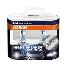 H4 OSRAM NIGHT BREAKER UNLIMITED Headlight Bulbs (Twin Pack) 3900K