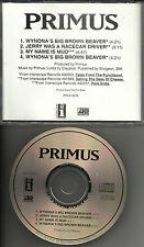 Les Claypool PRIMUS Wynona's Big Brown Beaver 4 TRK SAMPLER PROMO DJ cd single