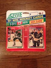 SCORE-1991 NHL Hockey Cards- New in Packs-Out of Print-Collectible- 20 Years Old
