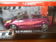 C3 PLURIEL C.CALIFORNIA TUNING  Norev boite 1/18 °
