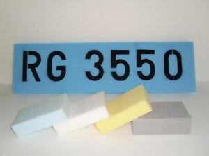 Schaumstoff Platte Schaumstoffplatte Polster  Zuschnitt  Rg 3550