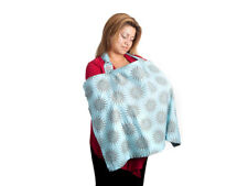 Cover in Style Hooter Hider Hiders Nursing Cover Blue