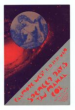 Bill Graham 267 Postcard Ad Back Spencer David Taj Mahal Fox 1971 Jan 21