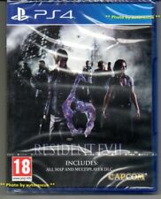 "Resident Evil 6 HD ""New & Sealed' * PS4 (Quatre) *"