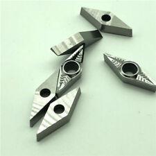 For- Aluminum VCGT160404-AK H01 VCGT331 CNC insert VCMT160404 Lathe blade 10pcs
