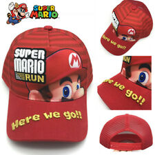 Super Mario run embroidery baseball hat here we go Snapback cap For Men Women