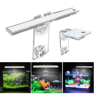 LED Aquarium Light Lamp Aqua Plant Fish Tank 3-8mm Thickness Bracket Lighting AU