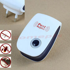 Electronic Ultrasonic Anti Mosquito Insect Pest Mouse Repellent Repeller EU Plug