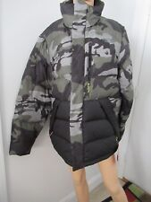 The North Face Sumter Mens Winter Jacket Camouflage Medium