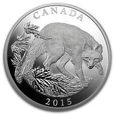 2015 Canada 1/2 kilo Proof Silver $125 Grey Fox - SKU #93201