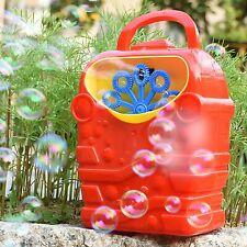 Automatic Bubble Machine Blower Bubble Maker Outdoor Kids Toy Party Decoration