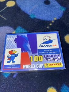 Unopened box 1998 Panini France 98 World Cup Soccer Trading Cards RARE