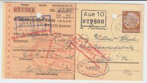 Empire Allemand Verrechnungsscheck Genossenschaftsbank Lehrte 1940