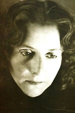 Sulamith Wulfing 1960 PORTRAIT of the ARTIST Matted Photographic Art Print