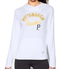Pittsburgh Pirates Under Armour Women's L Lightweight French Terry Hoodie $70
