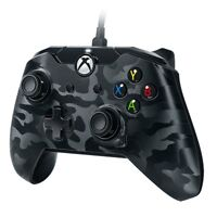 PDP Wired Controller für Microsoft Xbox One und Windows 10 PC Schw Camo Neu Ovp