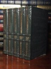 Easton Press Hobbit Lord Of The Rings Silmarillion J.R.R. TOLKIEN Leather Sealed