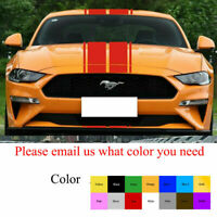 Decal Stripe Graphic Sticker Body Kit for Ford Mustang GT Xenon Skirt Chin Flare