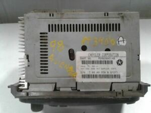 Audio Equipment Radio 2-7 Pin Connectors On Radio Fits 98-02 CONCORDE 594806