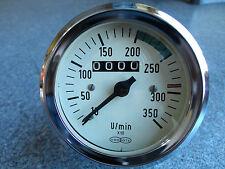 VDO OTA Drehzahlmesser mit Betriebsstundenzähler Oldtimer Diesel LKW Unimog 1:2