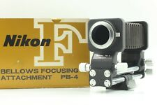 [NEAR MINT in BOX] Nikon Bellows Focusing Attachment PB-4 from Japan #177